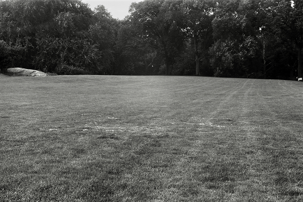 canvas thread blown by the wind while flying a kite North Meadow variable dimension documentary photograph, gelatin silver print 2015