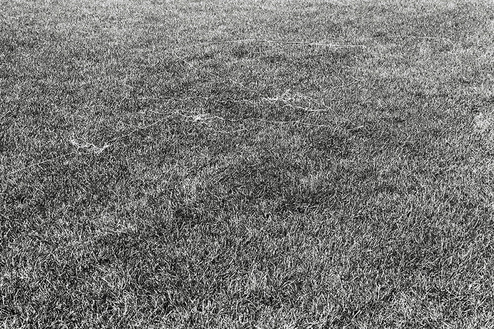 canvas thread blown by the wind while flying a kite East Meadow variable dimension documentary photograph, gelatin silver print 2012